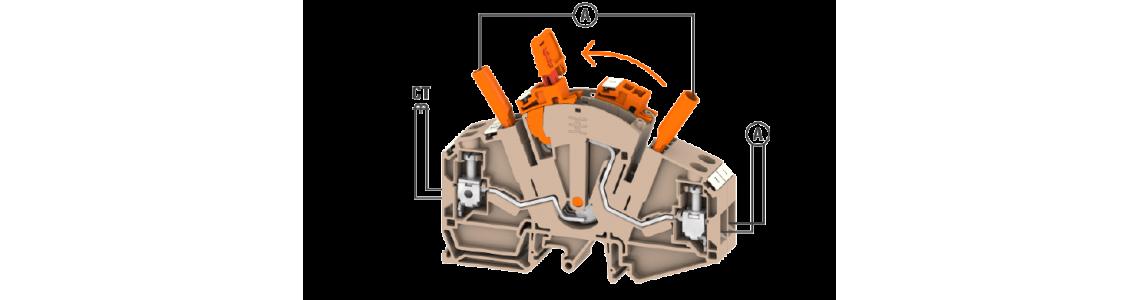 Измервателни редови клеми серия TTB 6 от Weidmüller