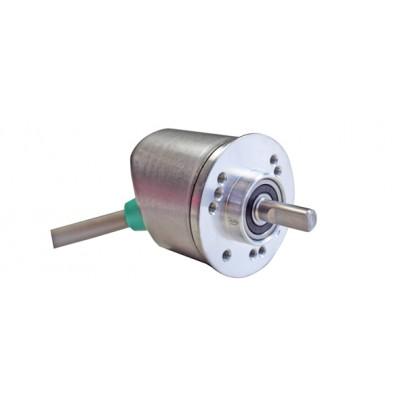 Инкрементален енкодер, ротационен, програмируем HTL/TTL, 1 до 16384 импулса, кабел - аксиален/радиален 2 m, IP64 / IP65, големина на корпуса 36 mm, вал с дължина 15 mm