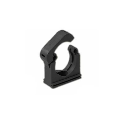 Фиксираща скоба със заключване, за шлаух, с размер ND-36, цвят черен