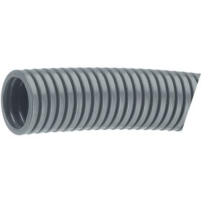 Гофрирана тръба PST, за изискващо индустриално приложение, размер ND-36, полиамид PA6, сив, 10 m. опак