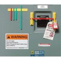 Breaker Blocker Components - 101 mm Yellow Mounting Rails