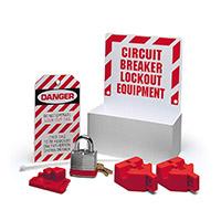 Circuit breaker lockout centre