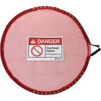 Lock Red Mesh Cover, Conf Space - Large