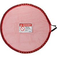 Lock Red Mesh Cover, Permit Req - Extra Large