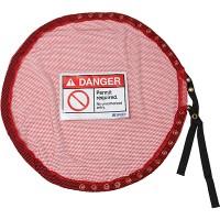 Lock Red Mesh Cover, Permit Req - Medium