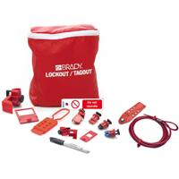 Electrician Lockout Kit + Tag DE
