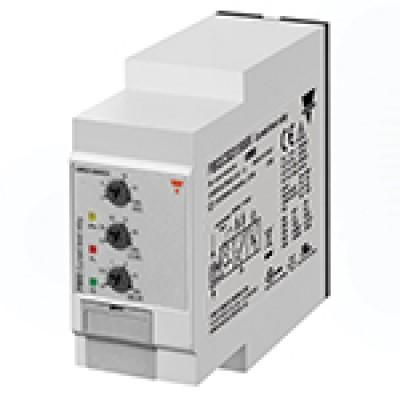 Реле за мониторинг на максимален ток, минимален ток, обхват 6 - 150 mV AC/DC, с 1 CO - 8 A / 250 V AC, захранване 24 V AC, 48 V AC