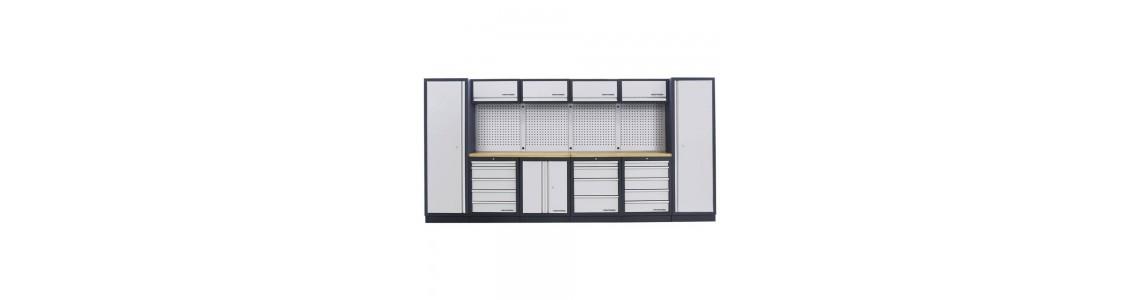 Работни маси и инструментални шкафове