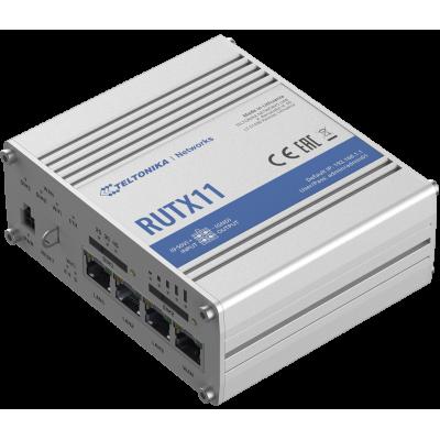 RUTX11 е LTE-A Cat 6 клетъчен IoT рутер с Dual-SIM и 4 Gigabit Ethernet интерфейси, Wave-2 802.11ac Dual-Band Wi-Fi, Bluetooth LE